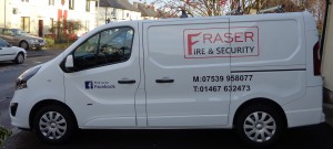 vehicle livery fraser fire and security